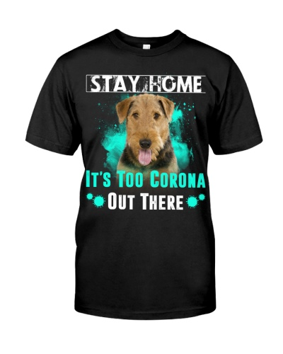 Airedale Terrier-Stay Home