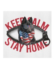 Schipperke-US-Keep Calm Cloth face mask aos-face-mask-coverlet-lifestyle-front-02