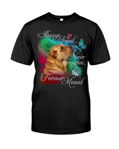 Shar Pei-Forever Missed