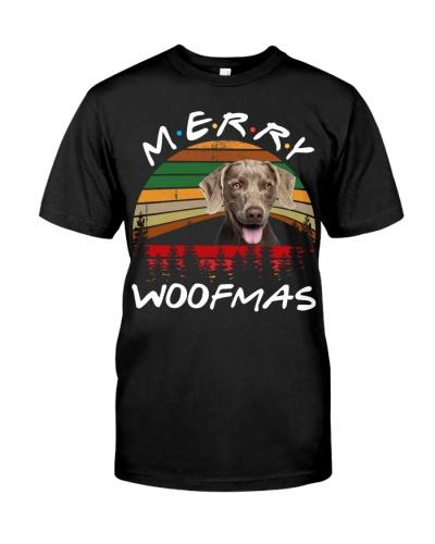 Weimaraner-Merry Woofmas