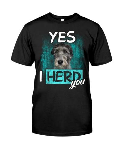Irish Wolfhound-I Herd You