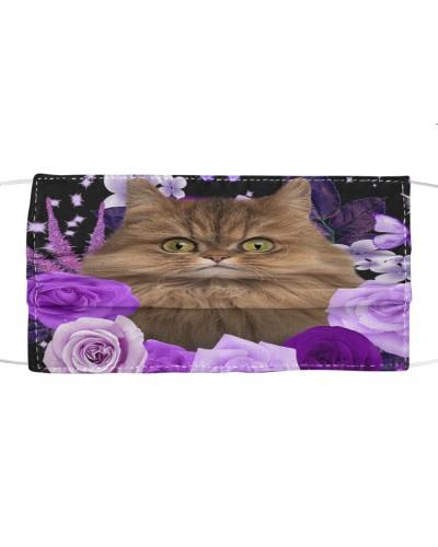 Persian Cat-Face Mask-Purple