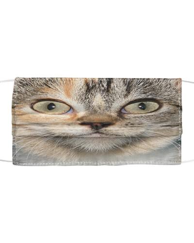 Calico Cat-Face Mask