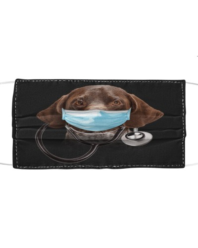 German Shorthaired Pointer-Face Mask-Doctor