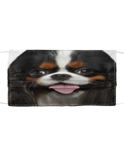 Cavalier King Charles Spaniel-Face Mask Cloth face mask front