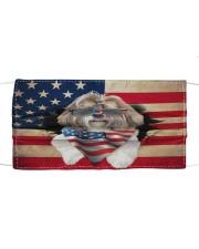 Shih Tzu-US Mask Cloth face mask front