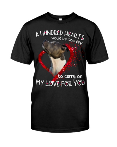 American Pit Bull Terrier-Hundred Hearts