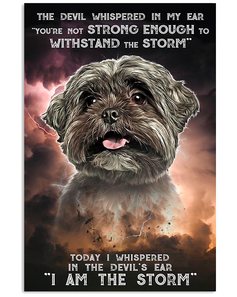 Shih Tzu - Storm 24x36 Poster