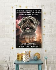 Shih Tzu - Storm 24x36 Poster lifestyle-holiday-poster-3