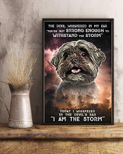 Shih Tzu - Storm 24x36 Poster lifestyle-poster-3
