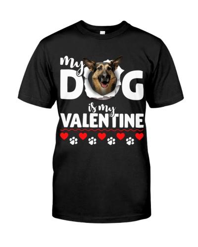 German Shepherd-My Valentine
