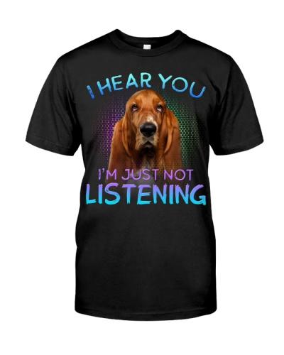 Basset Hound-I Hear You