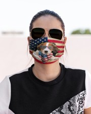 Kooikerhondje-US Mask Cloth face mask aos-face-mask-lifestyle-02