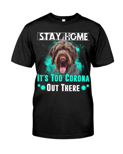German Wirehaired Pointer-Stay Home