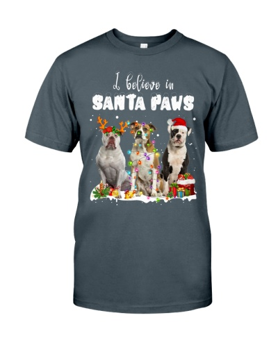 American Bulldog-Santa Paws
