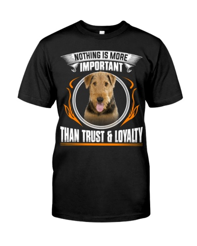 Airedale Terrier-Trust And Loyalty
