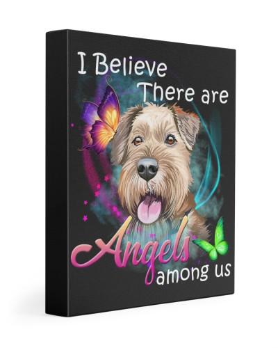 Irish Terrier-Art-Canvas Angels