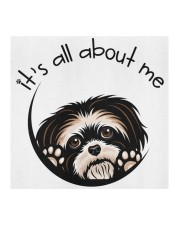 Shih Tzu-All About Me Cloth face mask aos-face-mask-coverlet-lifestyle-front-02