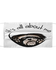 Shih Tzu-All About Me Cloth face mask front