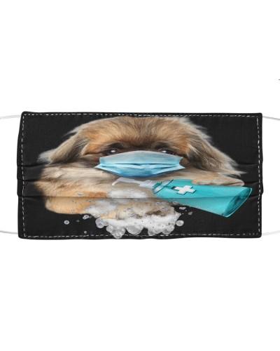 Pekingese-Face Mask-Wash