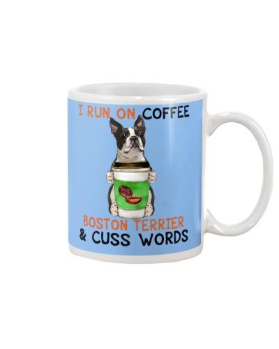 Boston Terrier-Coffee