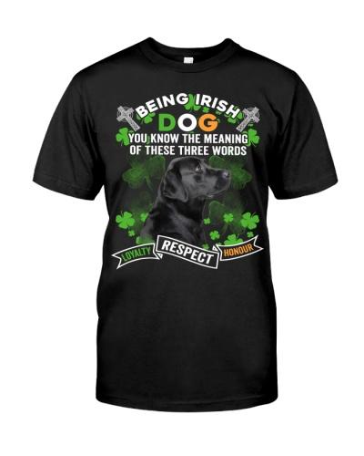 Labrador-Being Irish Dog