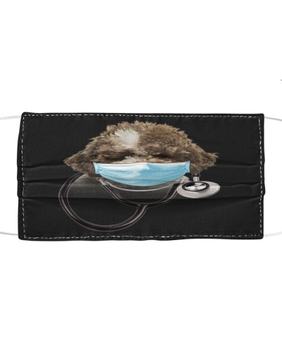 Lagotto Romagnolo-Face Mask-Doctor
