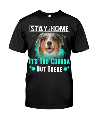 Australian Shepherd-Stay Home
