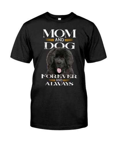Newfoundland-Mom And Dog