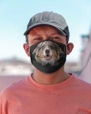 Australian Shepherd-Hole Crack Cloth face mask aos-face-mask-lifestyle-06