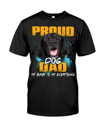 Flat Coated Retriever-Proud Dog Dad
