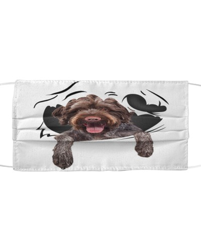 German Wirehaired Pointer-Face Mask-Torn07