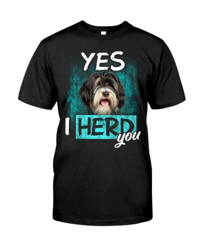 Tibetan Terrier-I Herd You