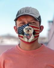 Maltese-US Mask Cloth face mask aos-face-mask-lifestyle-06