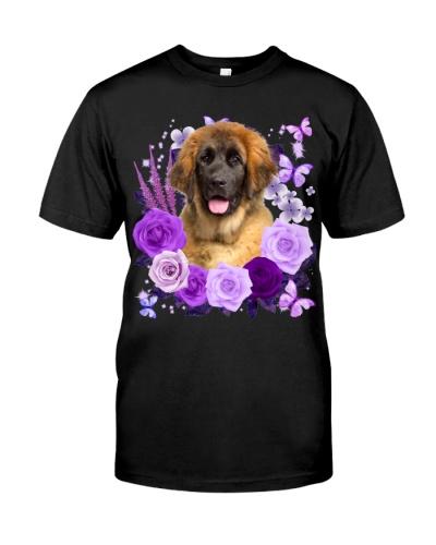 Leonberger-Purple Flower