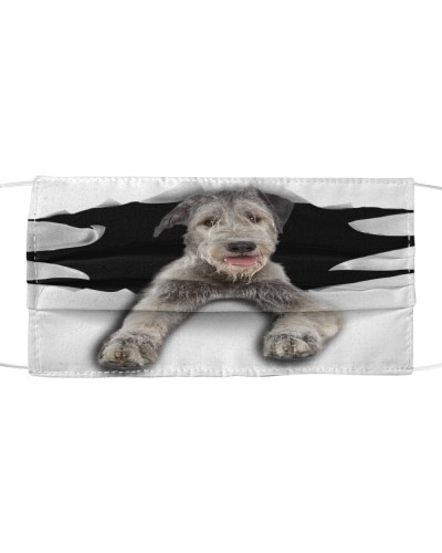 Irish Wolfhound-Face Mask-Torn03