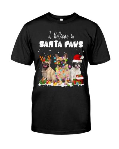French Bulldog-Santa Paws