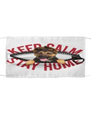 German Shepherd-Mask-Stay Home Cloth face mask front