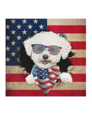 Bichon Frise-US Mask Cloth face mask aos-face-mask-coverlet-lifestyle-front-02