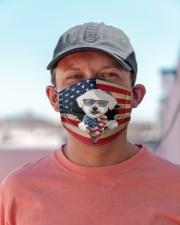 Bichon Frise-US Mask Cloth face mask aos-face-mask-lifestyle-06