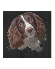 English Springer Spaniel-Hole Crack Cloth face mask aos-face-mask-coverlet-lifestyle-front-02