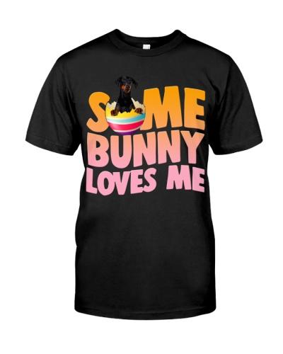 Doberman-Some Bunny