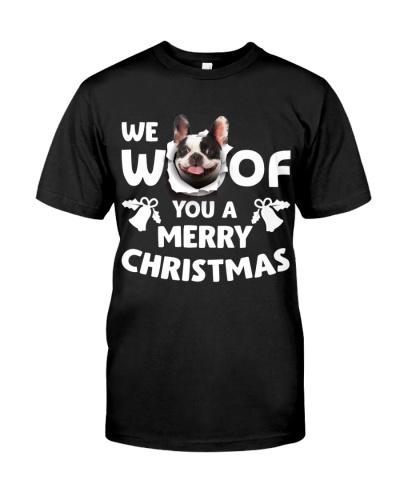 French Bulldog-Merry Xmas