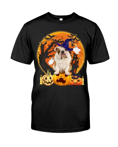 English Bulldog-Halloween