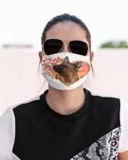 German Shepherd-02-My Life-Mask Cloth face mask aos-face-mask-lifestyle-02