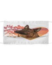 German Shepherd-02-My Life-Mask Cloth face mask front