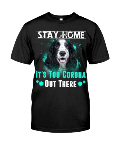 English Cocker Spaniel-Stay Home