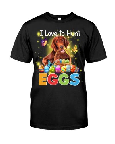 Irish Setter-Hunt Eggs
