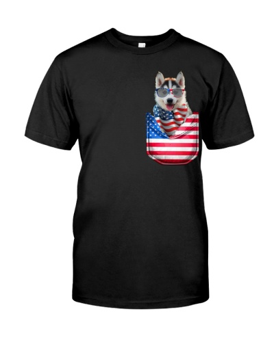 Husky-Flag Pocket