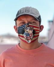 Shetland Sheepdog-US Mask Cloth face mask aos-face-mask-lifestyle-06